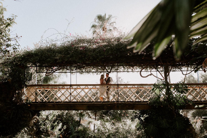 botanic gardens elopement in Gibraltar, Gibraltar, UK-14.jpg