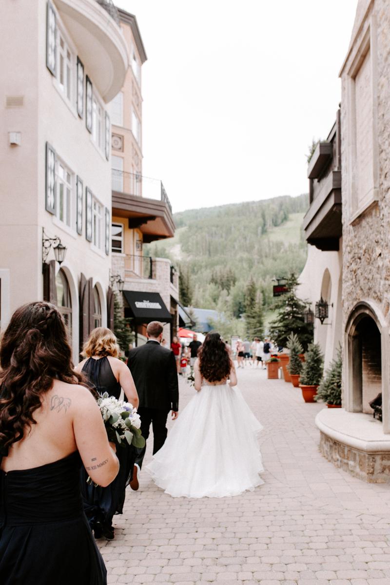 bride groom first look at the arrabelle hotel in vail colorado-9.jpg