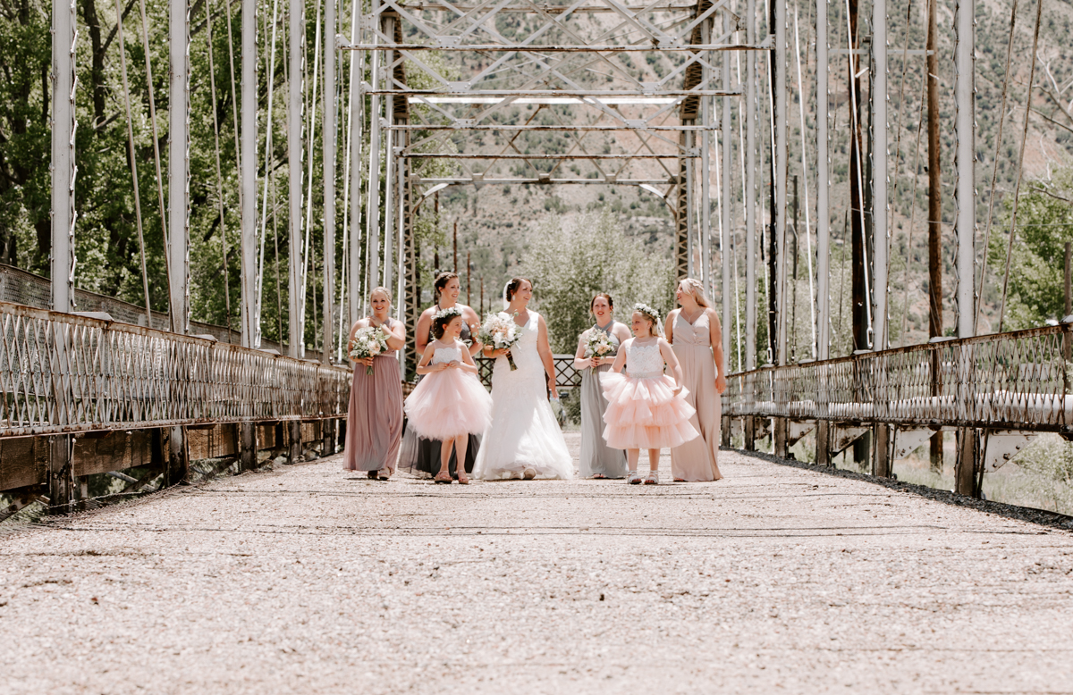 bride party at rifle bridge wedding photography and photographer western slope colorado diana coulter photography-3.jpg