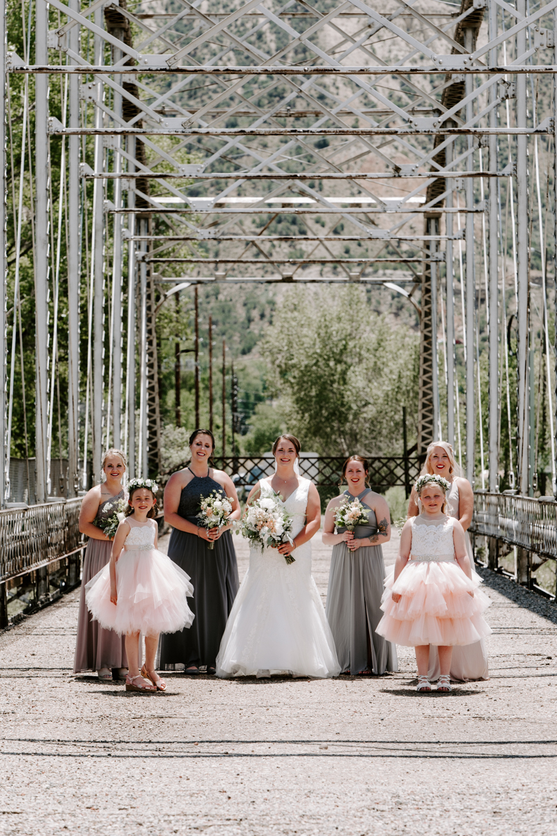 bride party at rifle bridge wedding photography and photographer western slope colorado diana coulter photography-4.jpg