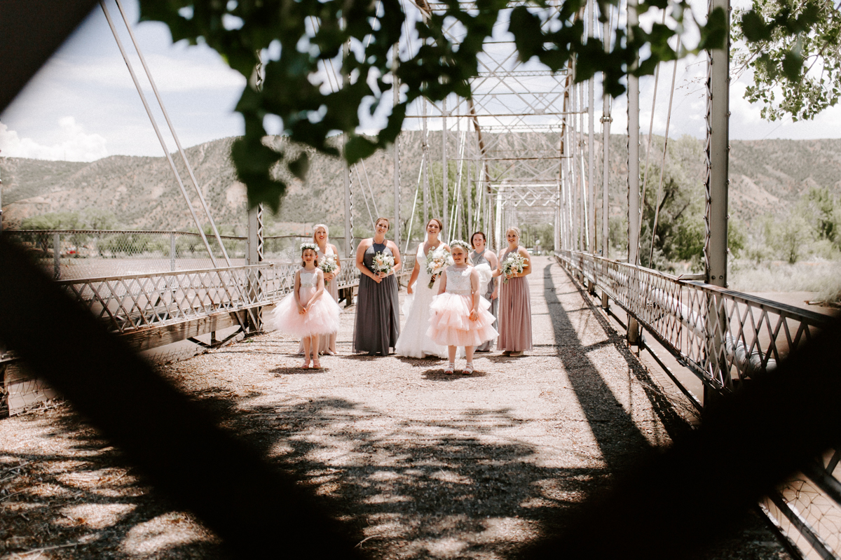 bride party at rifle bridge wedding photography and photographer western slope colorado diana coulter photography-6.jpg
