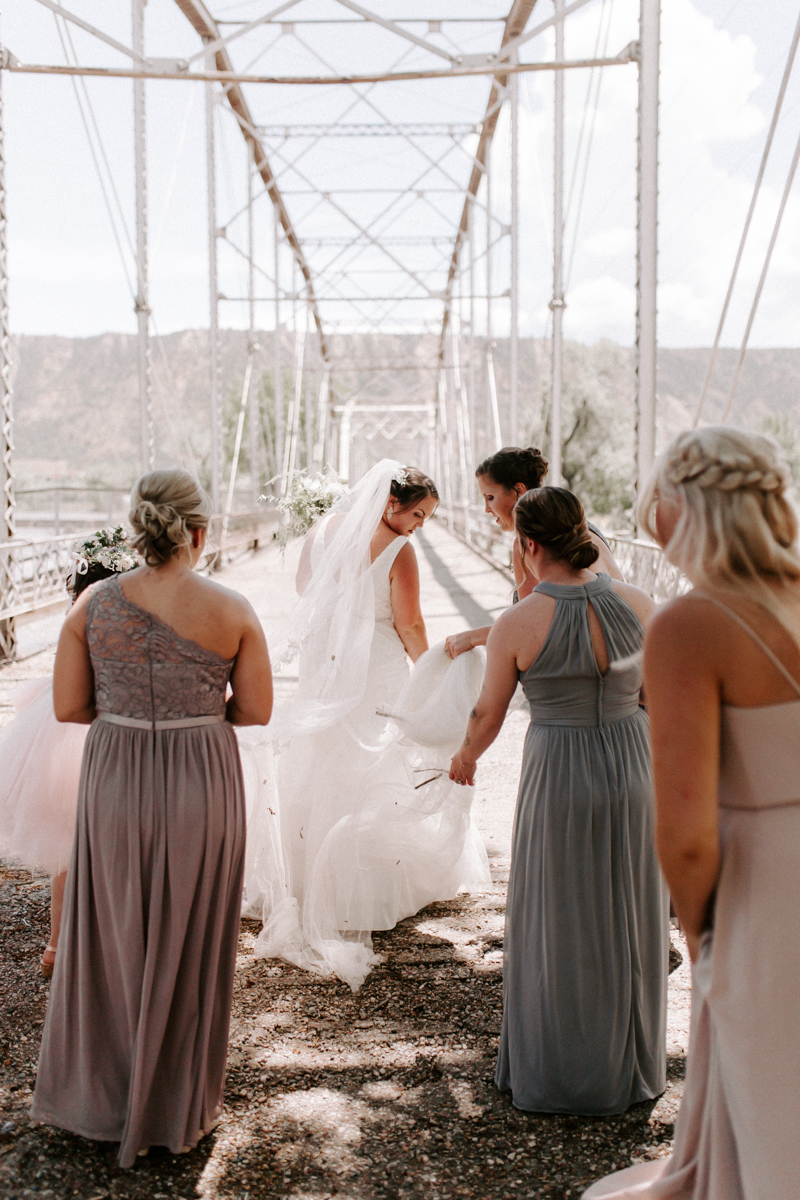 bride party at rifle bridge wedding photography and photographer western slope colorado diana coulter photography-8.jpg
