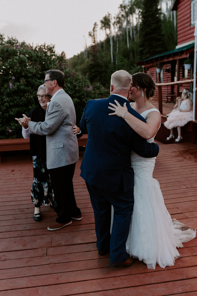 reception at coulter lake ranch in rifle western slope wedding photographer colorado diana coulter photography-28.jpg