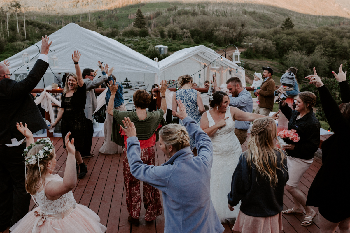 reception at coulter lake ranch in rifle western slope wedding photographer colorado diana coulter photography-31.jpg