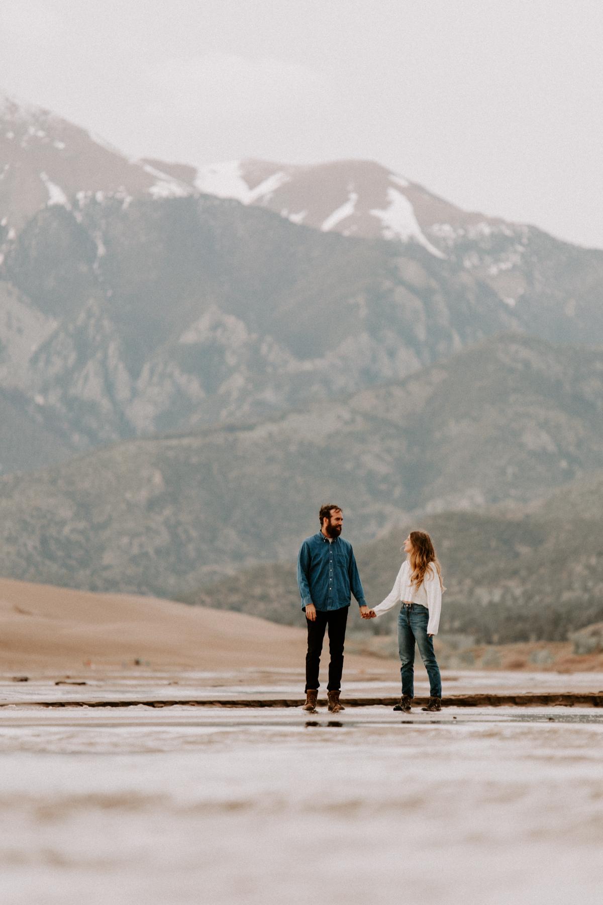 S + J Great Sand Dunes National Park Engagement Photography Photographer Wedding Alamosa Colorado-4.jpg