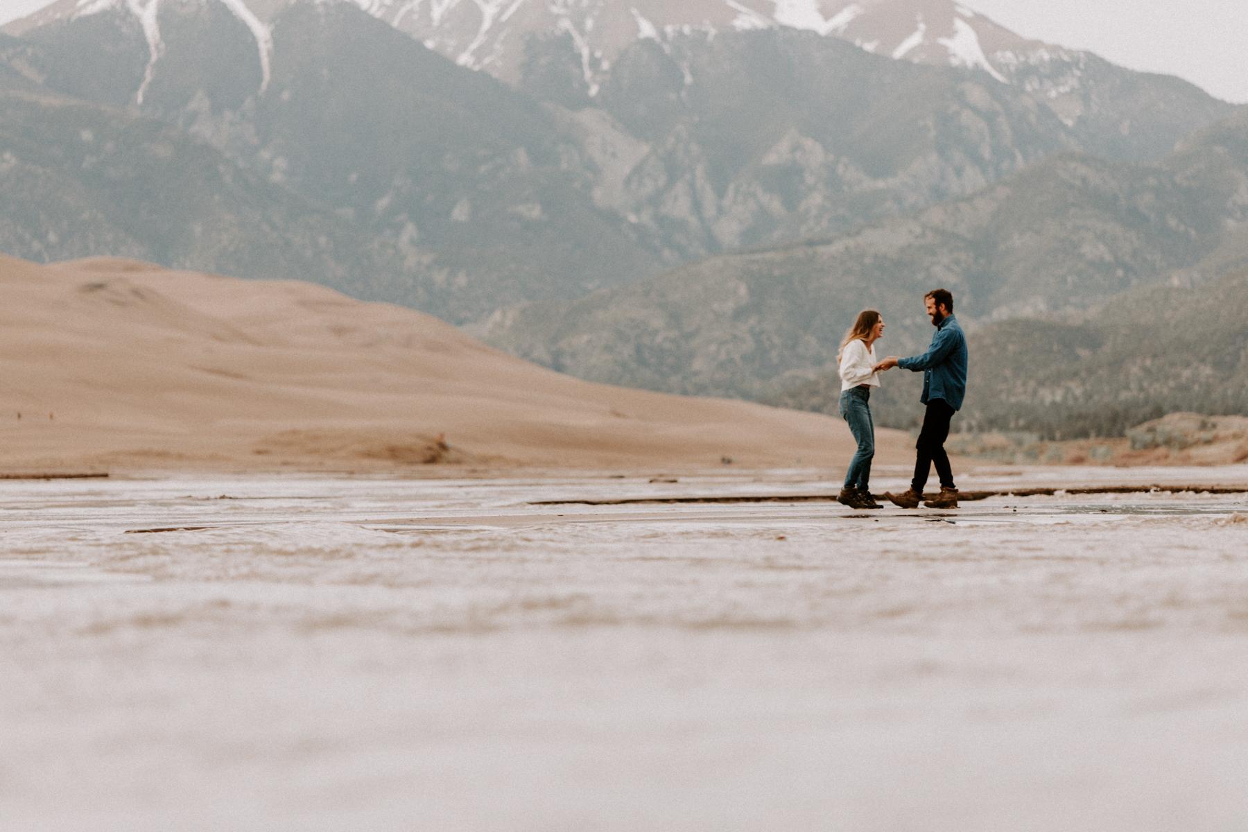 S + J Great Sand Dunes National Park Engagement Photography Photographer Wedding Alamosa Colorado-7.jpg