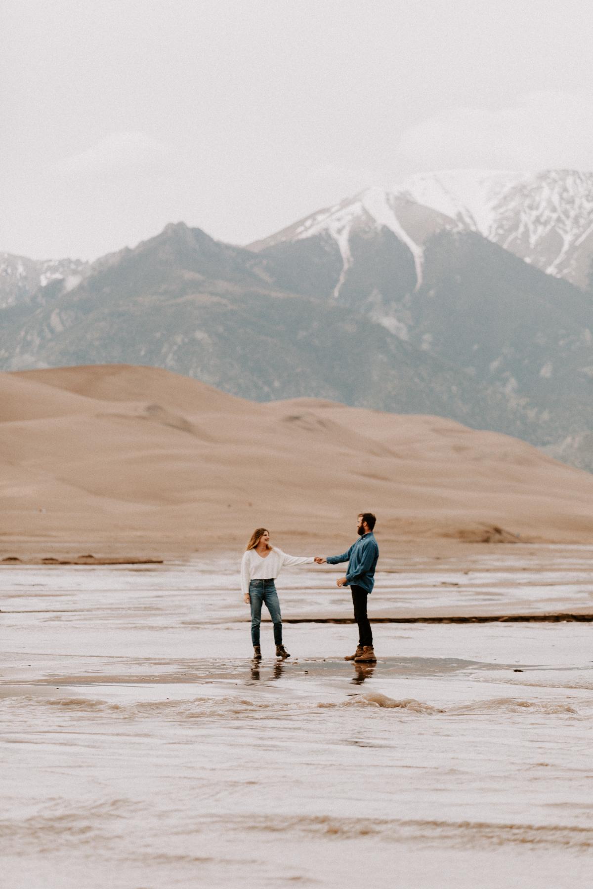 S + J Great Sand Dunes National Park Engagement Photography Photographer Wedding Alamosa Colorado-14.jpg