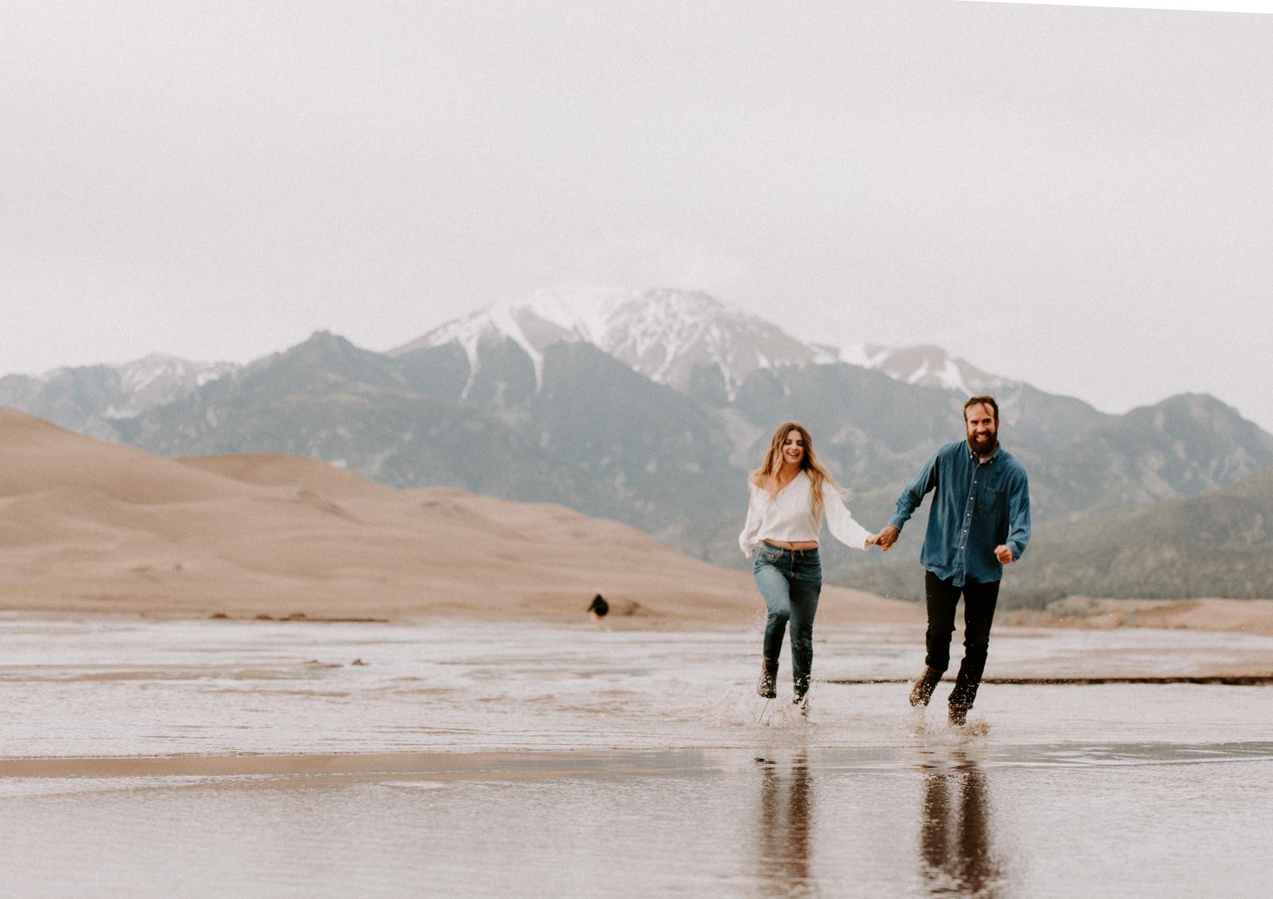S + J Great Sand Dunes National Park Engagement Photography Photographer Wedding Alamosa Colorado-26.jpg