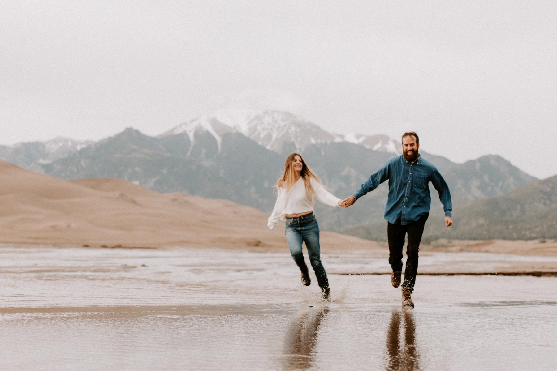 S + J Great Sand Dunes National Park Engagement Photography Photographer Wedding Alamosa Colorado-27.jpg