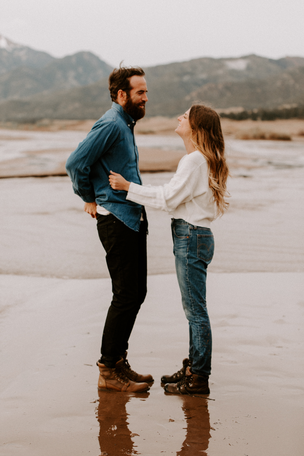S + J Great Sand Dunes National Park Engagement Photography Photographer Wedding Alamosa Colorado-31.jpg