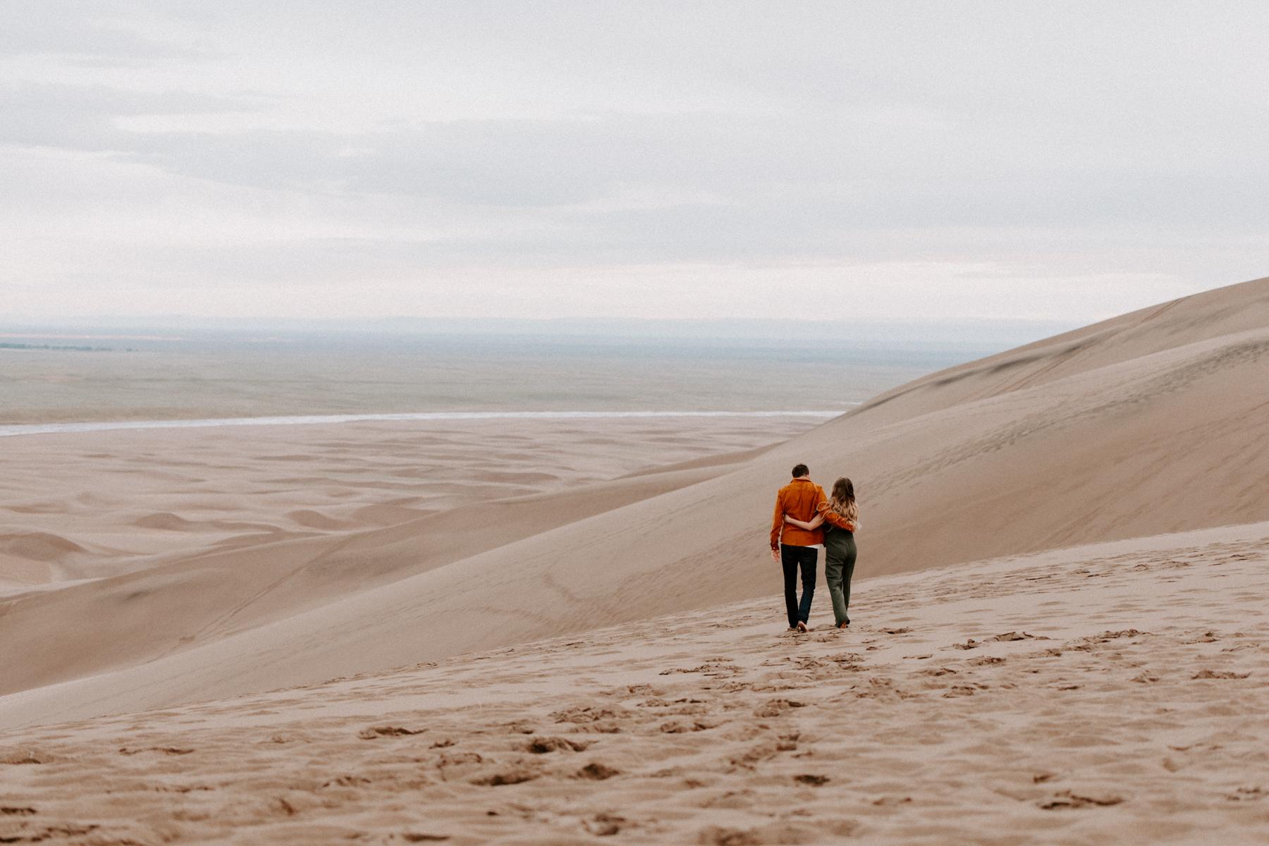 S + J Great Sand Dunes National Park Engagement Photography Photographer Wedding Alamosa Colorado-57.jpg