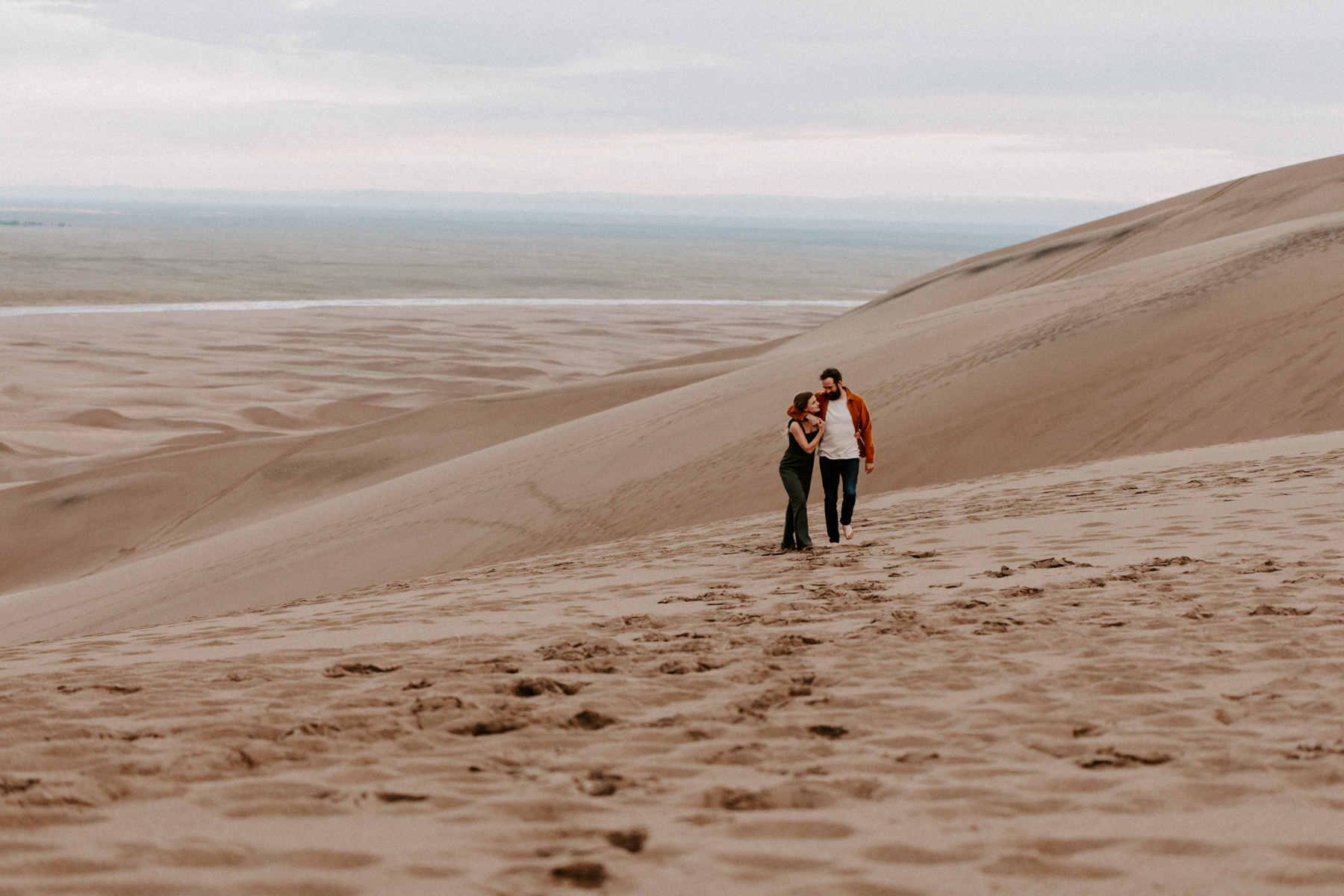 S + J Great Sand Dunes National Park Engagement Photography Photographer Wedding Alamosa Colorado-58.jpg