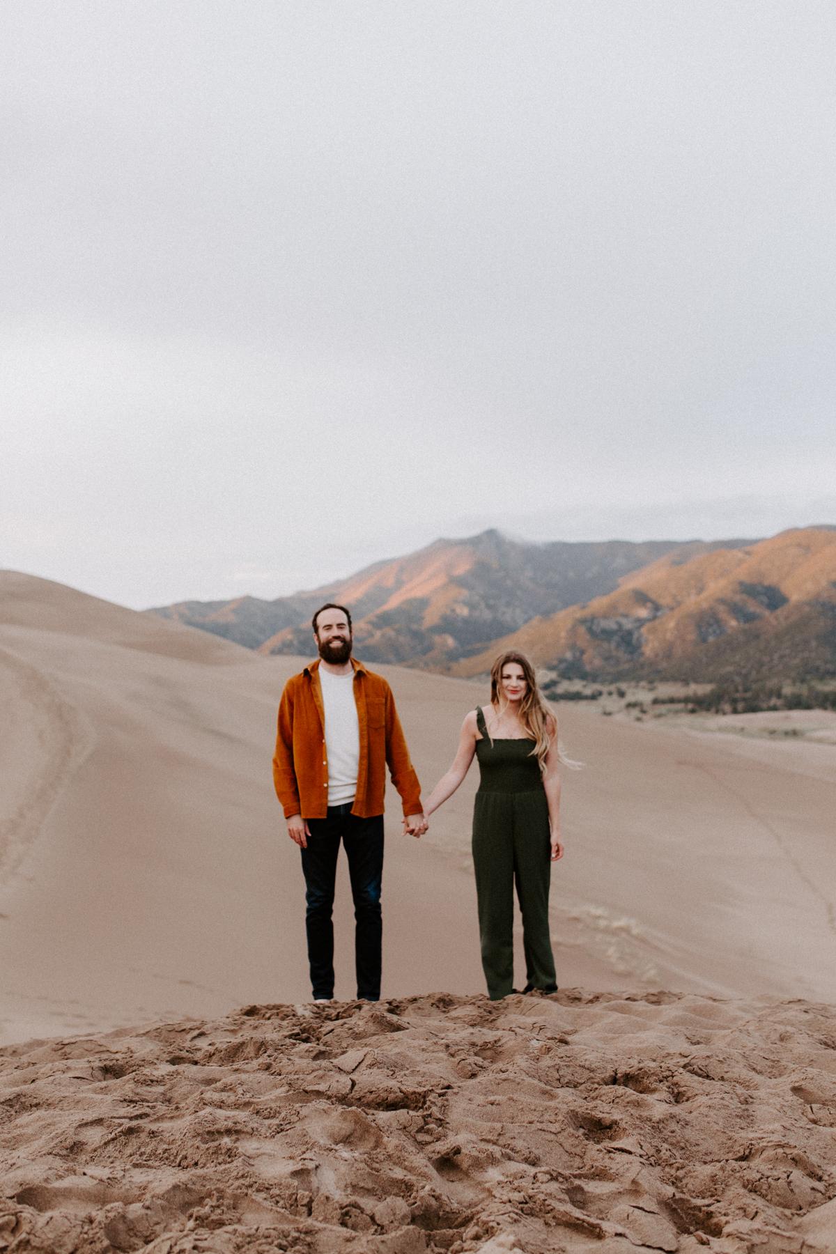 S + J Great Sand Dunes National Park Engagement Photography Photographer Wedding Alamosa Colorado-67.jpg