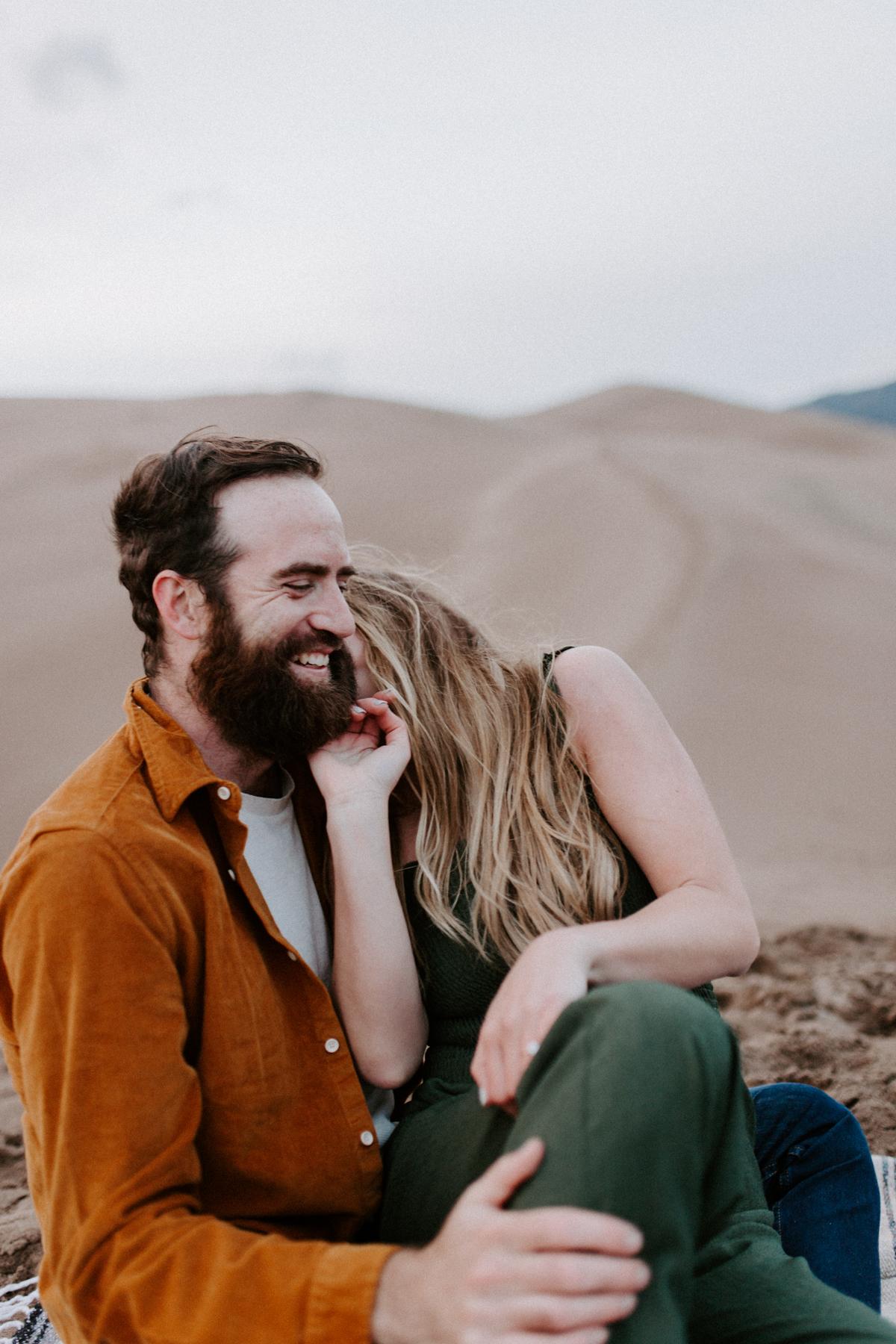 S + J Great Sand Dunes National Park Engagement Photography Photographer Wedding Alamosa Colorado-95.jpg
