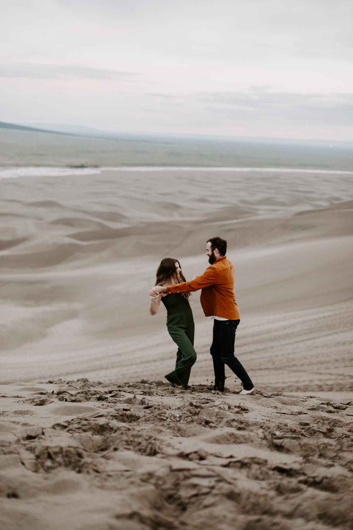 S + J Great Sand Dunes National Park Engagement Photography Photographer Wedding Alamosa Colorado-120.jpg