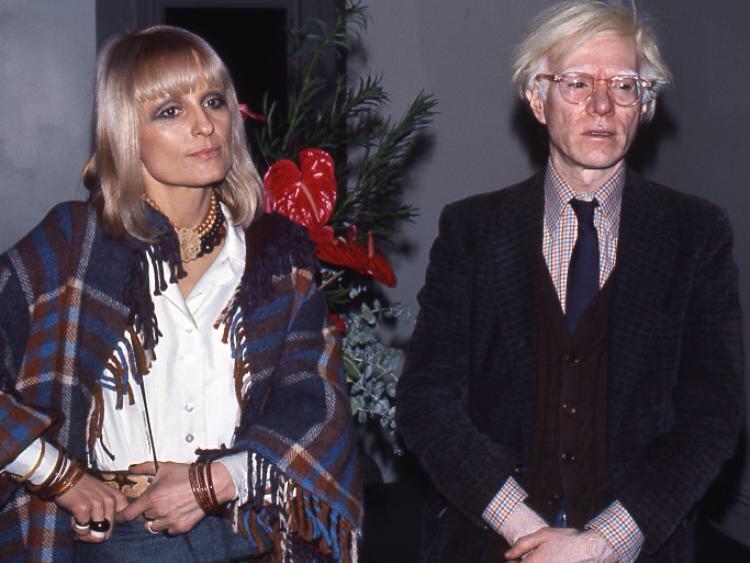 Barbara Hulanicki and Andy Warhol