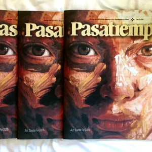 Mederos on the cover of Pasatiempo.