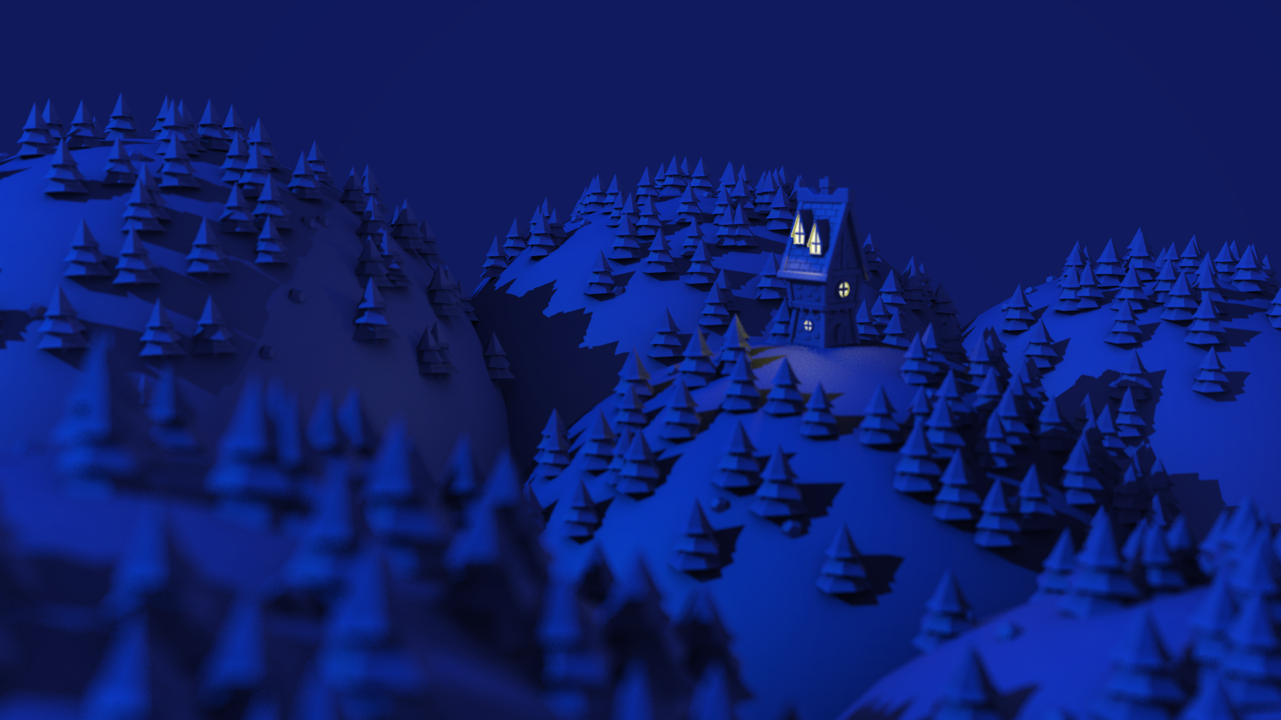 Then just for fun I made a nighttime variant