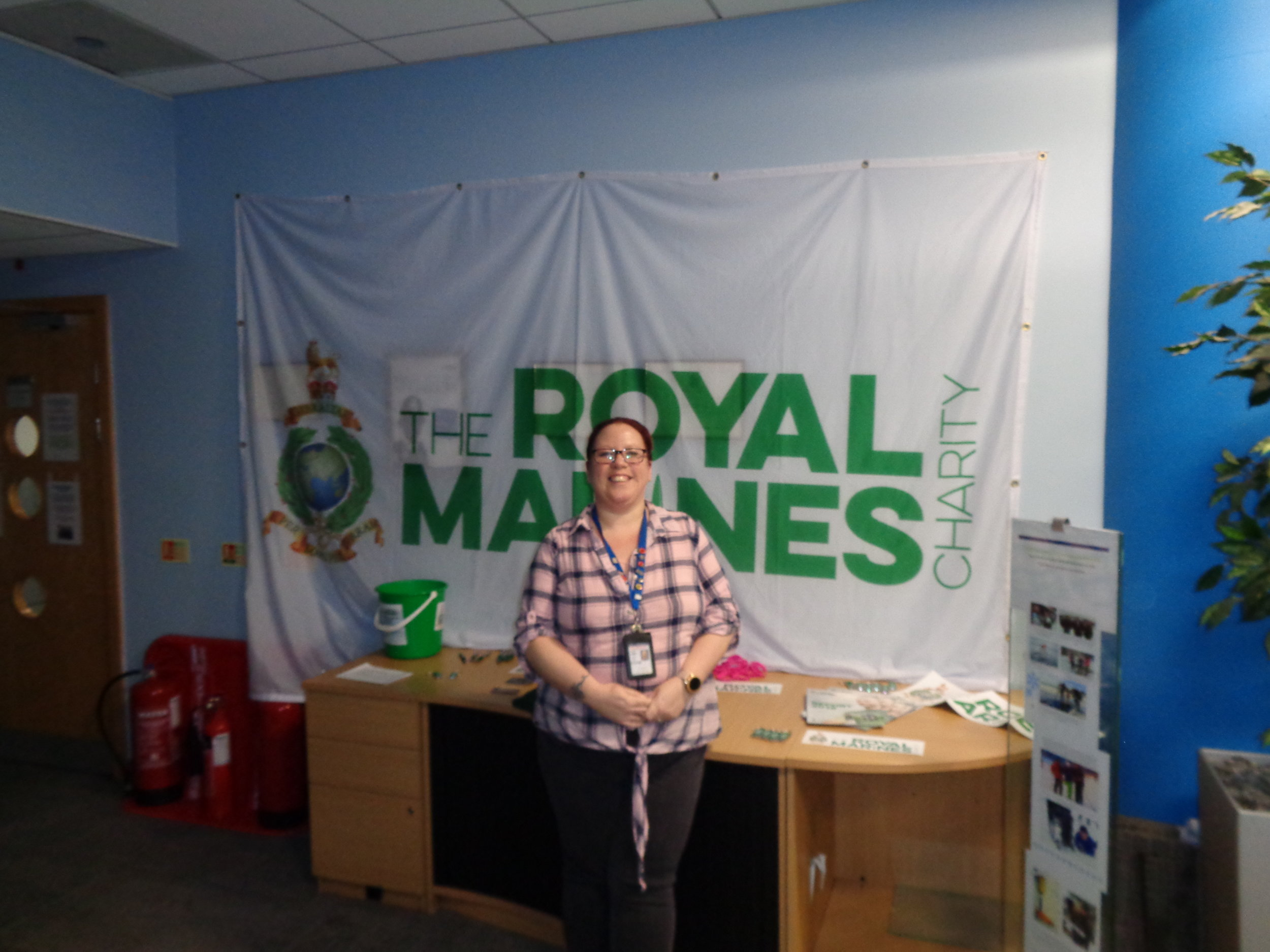 Sun 10th Feb 19 -  TRMC Stall with Zoe.JPG