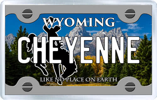 acrylic-plastic-photo-magnet-from-usa-license-plate-of-cheyenne-wyoming.jpg