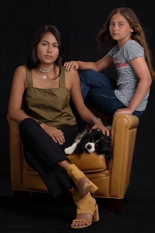 Yasmin and Gabriella, 2017