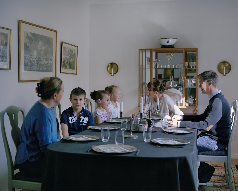 Family gathering, Djursholm Sweden, 2017