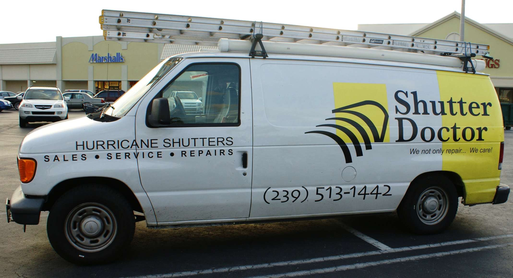 Repair service maintenance hurricane shutter