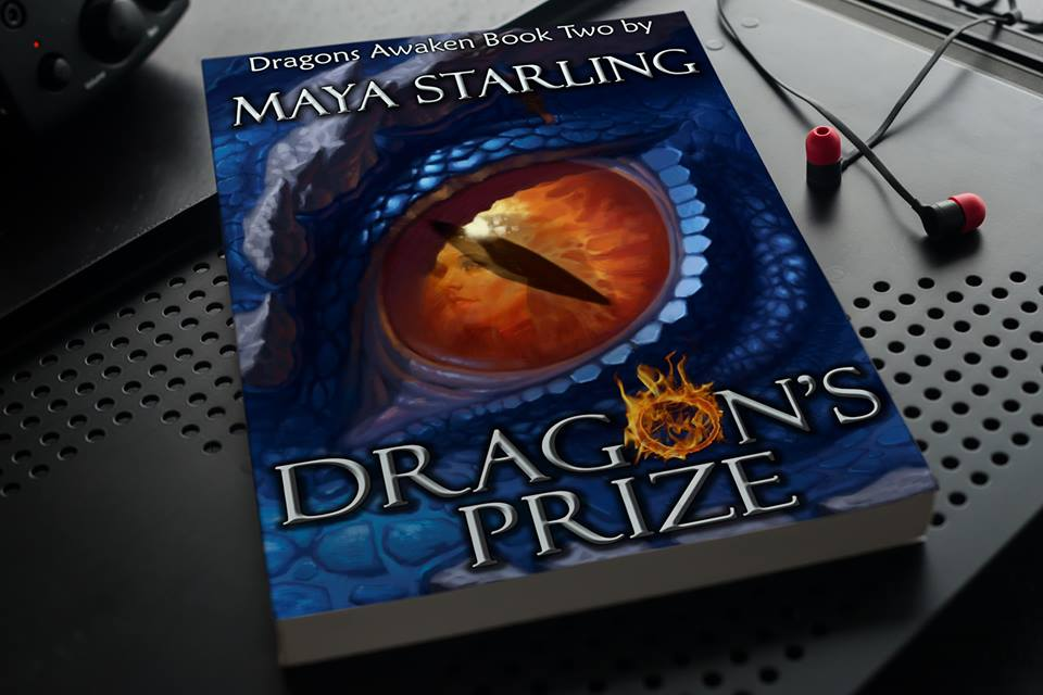Fantasy roman  Dragon's Prize  autorice  Maye Starling
