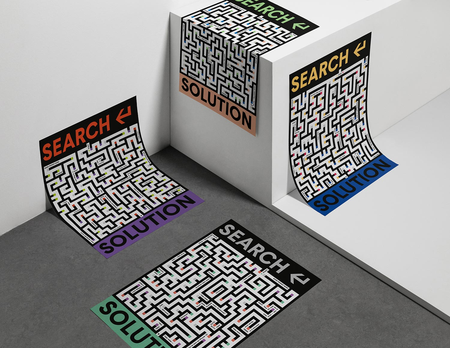 Search for Dieci Parole by Italianism poster series