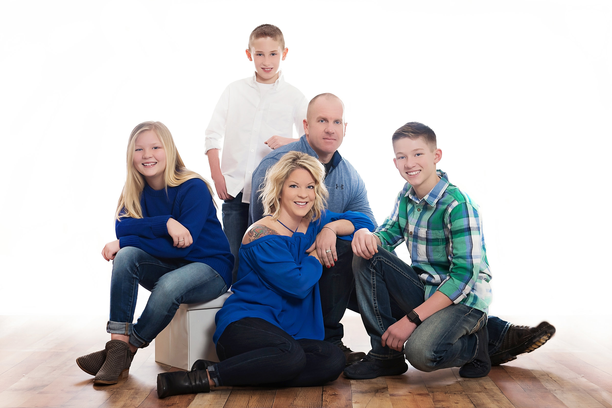 Chantelle is super friendly, very professional, and pays close attention to detail. She's been taking our families photos for years and we couldn't be happier.~ Missy Weeks -