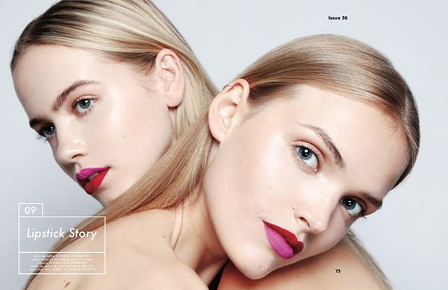 Ein wunderschönes Beauty Editorial im @dreamingless mit unseren Lippenstiften ♥️💗 Fotografiert von @kendrastormrae und Make-up von @victoriareutermua ✨models @_nerize @aniayudina @iconic_mgmt #retouchedby @studioresolve 😍 . . . #cocobcosmetis #colorblocking #colorblock #reda dpink #redlips #pinklips #redlipstick #pinklipstick #lipstickforallshades #liquidlipstick #berlincosmetics #makeup #lips #germancosmeticbrands #mattelips #lipstokiss