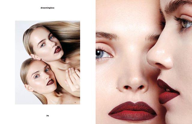Ein wunderschönes Beauty Editorial im @dreamingless mit unseren Lippenstiften ♥️💗 Fotografiert von @kendrastormrae und Make-up von @victoriareutermua ✨models @_nerize @aniayudina @iconic_mgmt #retouchedby @studioresolve 😍 . . . #cocobcosmetis #lipstickforallshades #ombre #ombrelips #ombremakeup #liquidlipstick #berlincosmetics #makeup #lips #germancosmeticbrands #mattelips #lipstokiss