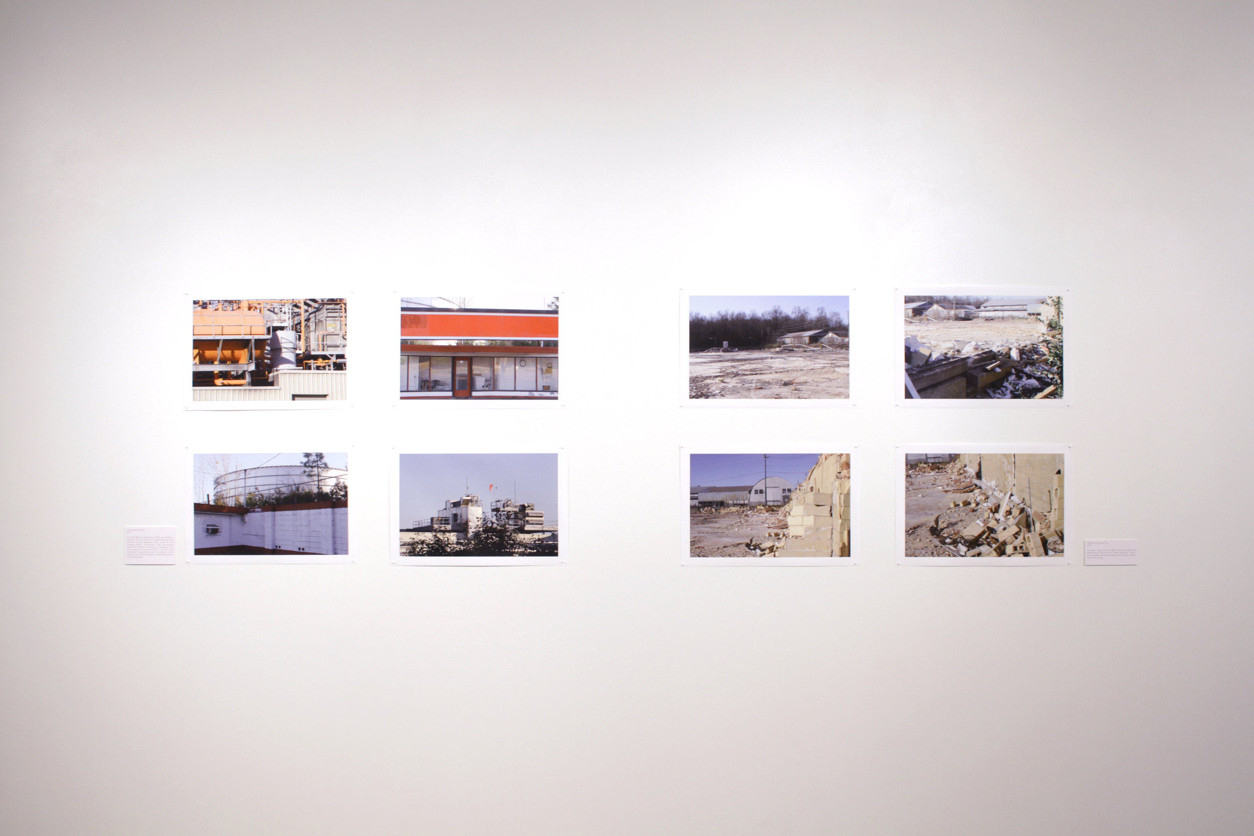 The North Wind and the Sun , photographs, installation view,  The North Wind and the Sun , Art Lab, Columbus State University, Columbus, GA, 2017