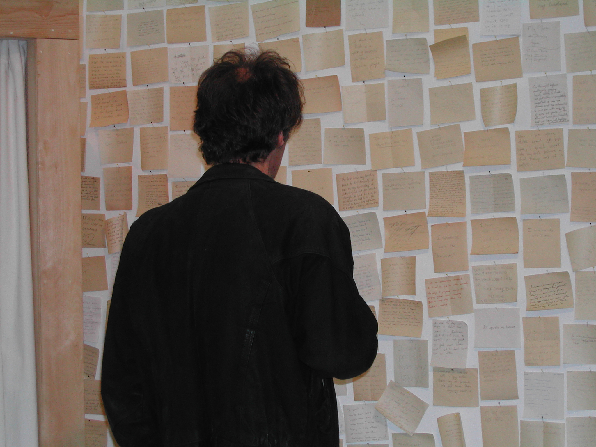 what haunts… , installation view, Artspace, New Haven, CT, 2004