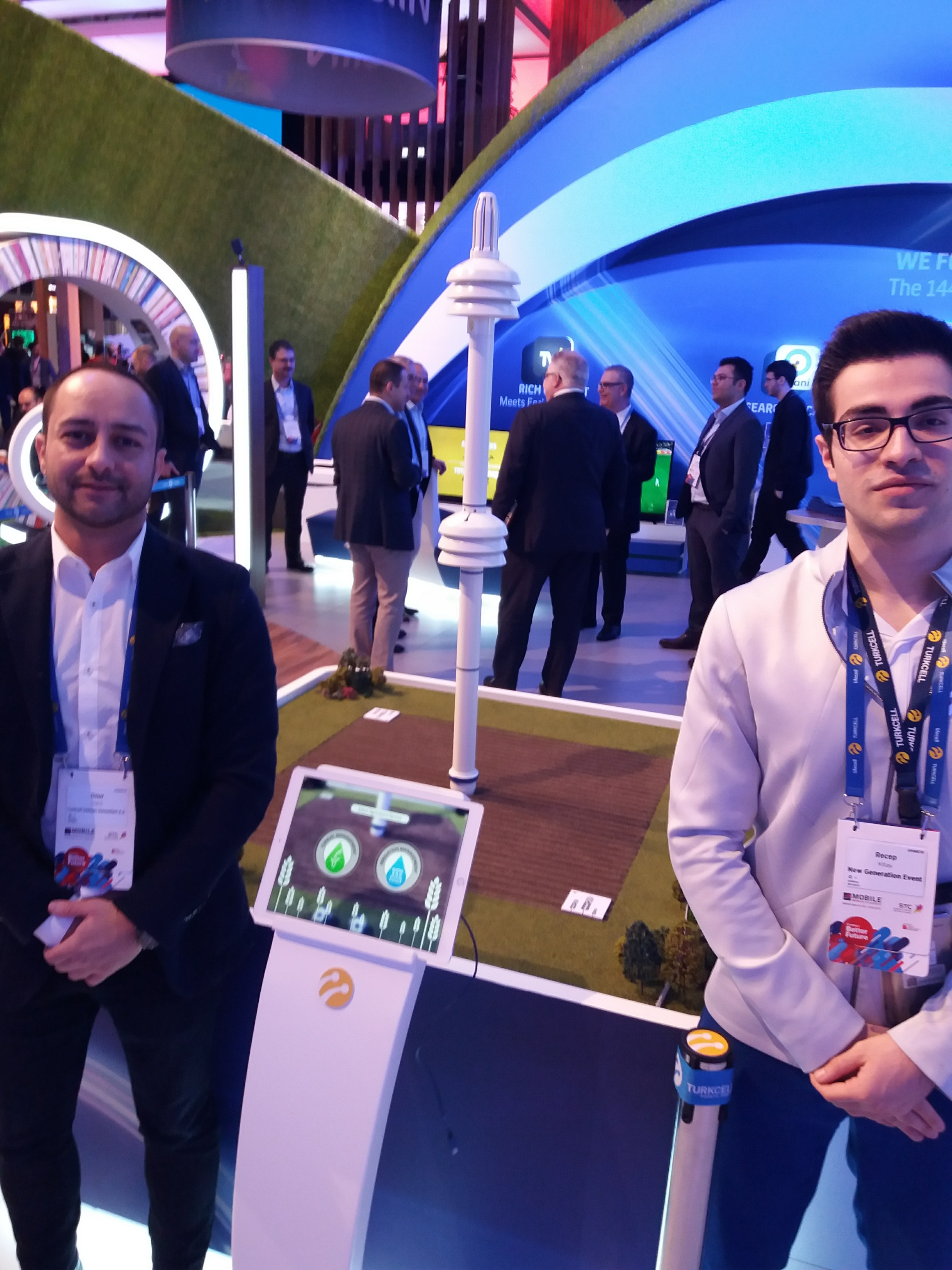 Turkcell had a great industrial IoT sensor solution for agriculture