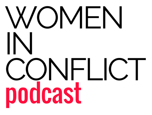 "Women in Conflict Podcast - The Women in Conflict podcast explores the complexity of being ""woman"" in conflict zones. Together with women peacebuilders, refugees, activities, and even combatants, we dive into the nuances of violence and womanhood. Listen, as women share their uncensored stories and the intimate details of maintaining meaning amidst moral complexity.In each 20-30 minute episodes we discover the purpose, motivations, and backgrounds of these vibrant women navigating life in conflict.Read our concept note."