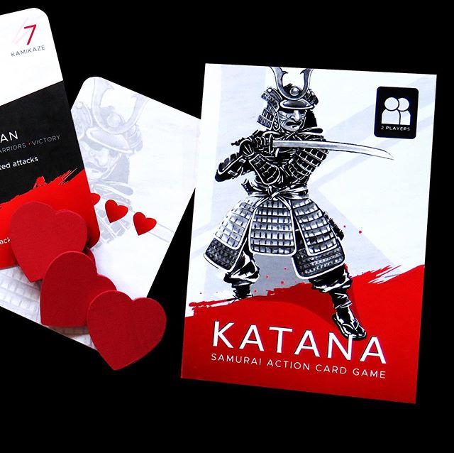 Katana—Head-to-head samurai action card game now live on Kickstarter