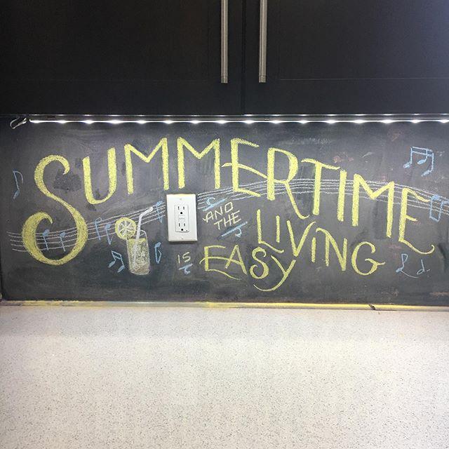 Something for Scott's chalkboard backsplash