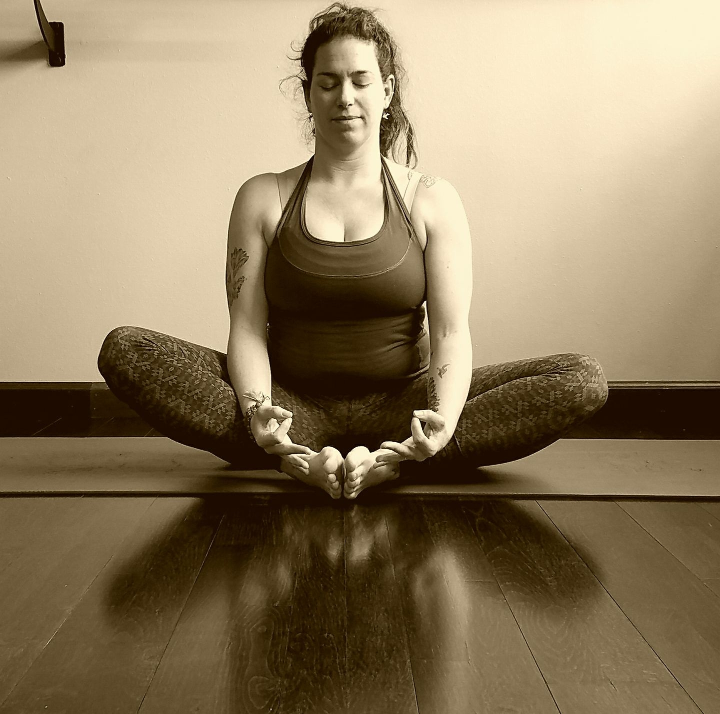 About the host    Kate Crouch has a B.A in Integrative Studies from Warren Wilson College, is a certified Yoga instructor, RYT-200hr, and has completed the Forest for Every Classroom teaching program. She began practicing and studying yoga, in her home city of  Philadelphia, in 2000. Since then she has explored many of the diverse yoga lineages. Kate has training in Kundalini yoga from 7 Centers Yoga Arts in Sedona, AZ and Hatha yoga from Anahata Power Yoga here in Missoula.   She is a teaching artist for SPARKARTS in Mindfulness Arts and is pursuing her Master's degree in Art Integration at the U of M.  Her passion for teaching is rooted in her belief that the practices of Mindfulness  prepares one for the challenges of life. Her classes aim to be accessible, rejuvenating and full of joy.