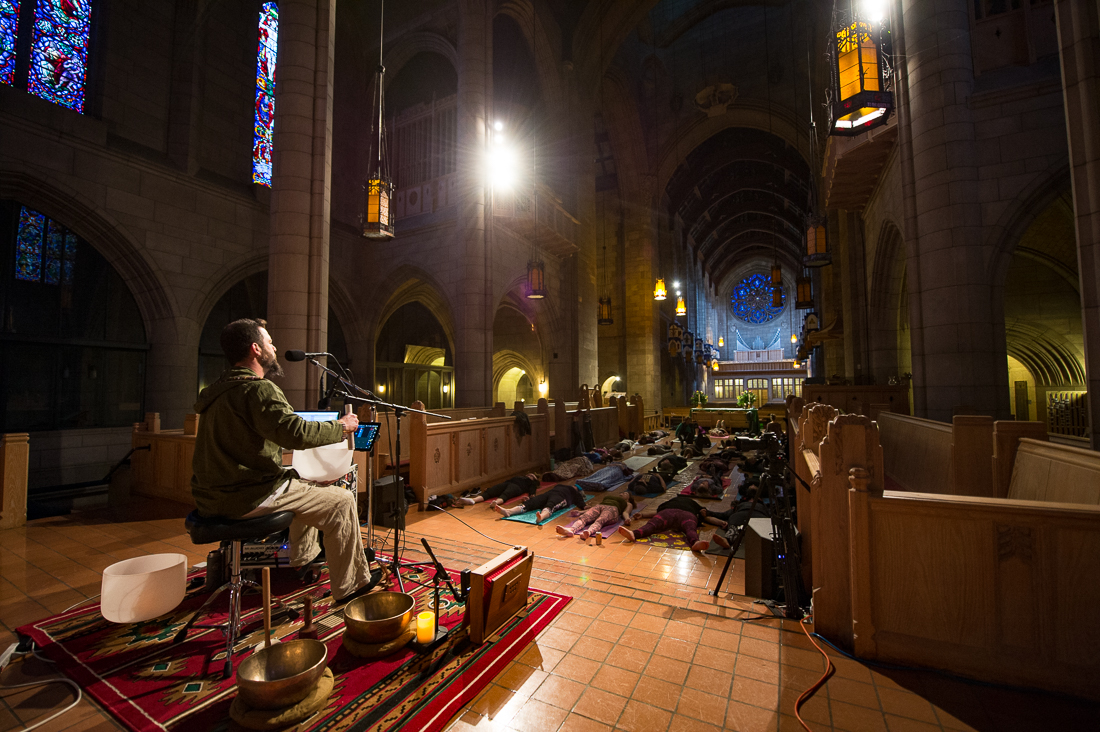 ShaamaahS Meditaion in Spokane, WA, January 2017