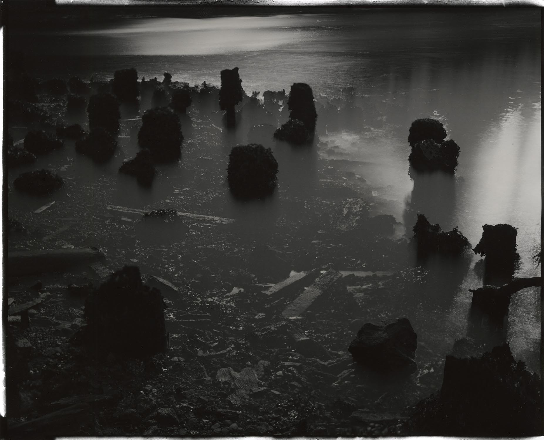 """Tidal #6, 2013. 8""""x10"""" unique gelatin silver paper negative. Courtesy of Haines Gallery, San Francisco"""