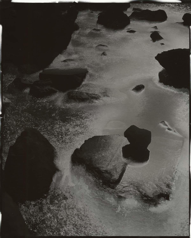 """Tidal #23, 2015. 8""""x10"""" unique gelatin silver paper negative. Courtesy of Yossi Milo Gallery, New York."""