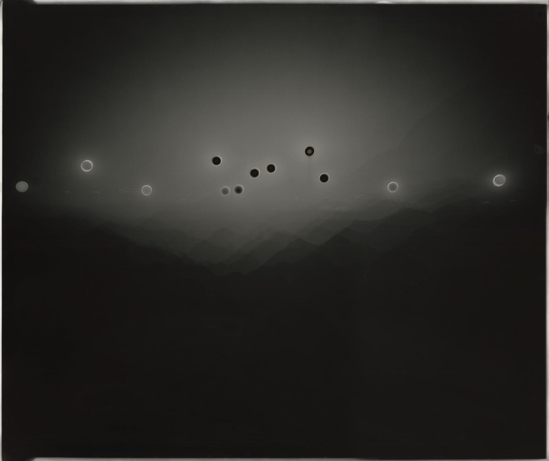 "Heliograph #93, 2015. 20""x24"" unique gelatin silver paper negative. Private collection"
