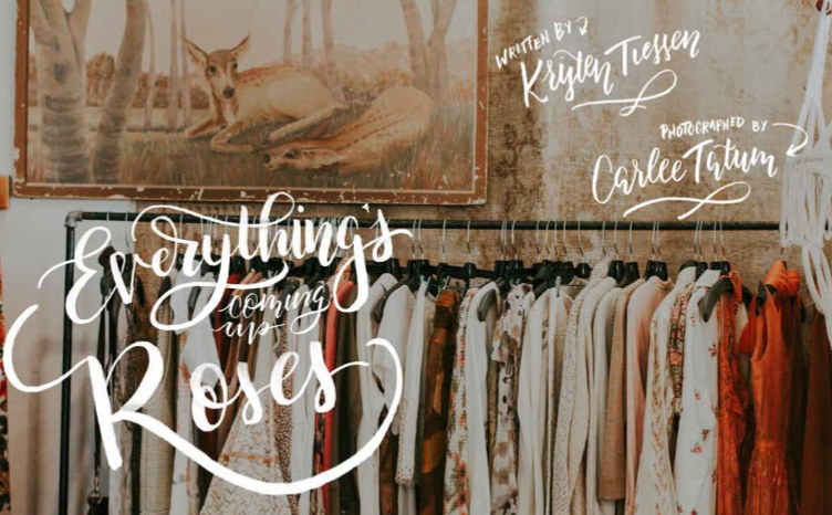Everything's Coming Up Roses - Get to know the wonderfully warm Stephanie Hendry, owner of Ruby Rose Vintage in downtown San Luis Obispo, CA. We talk about taking risks, making your passion your business, and the magic of vintage.