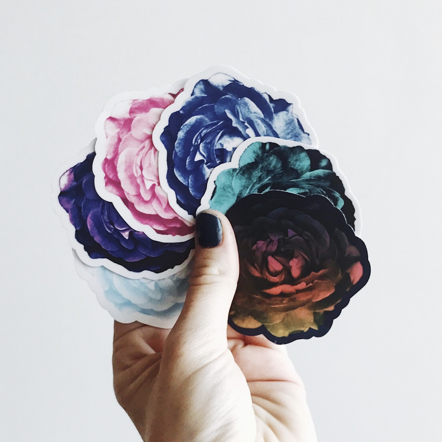 DIE-CUT STICKERS  -
