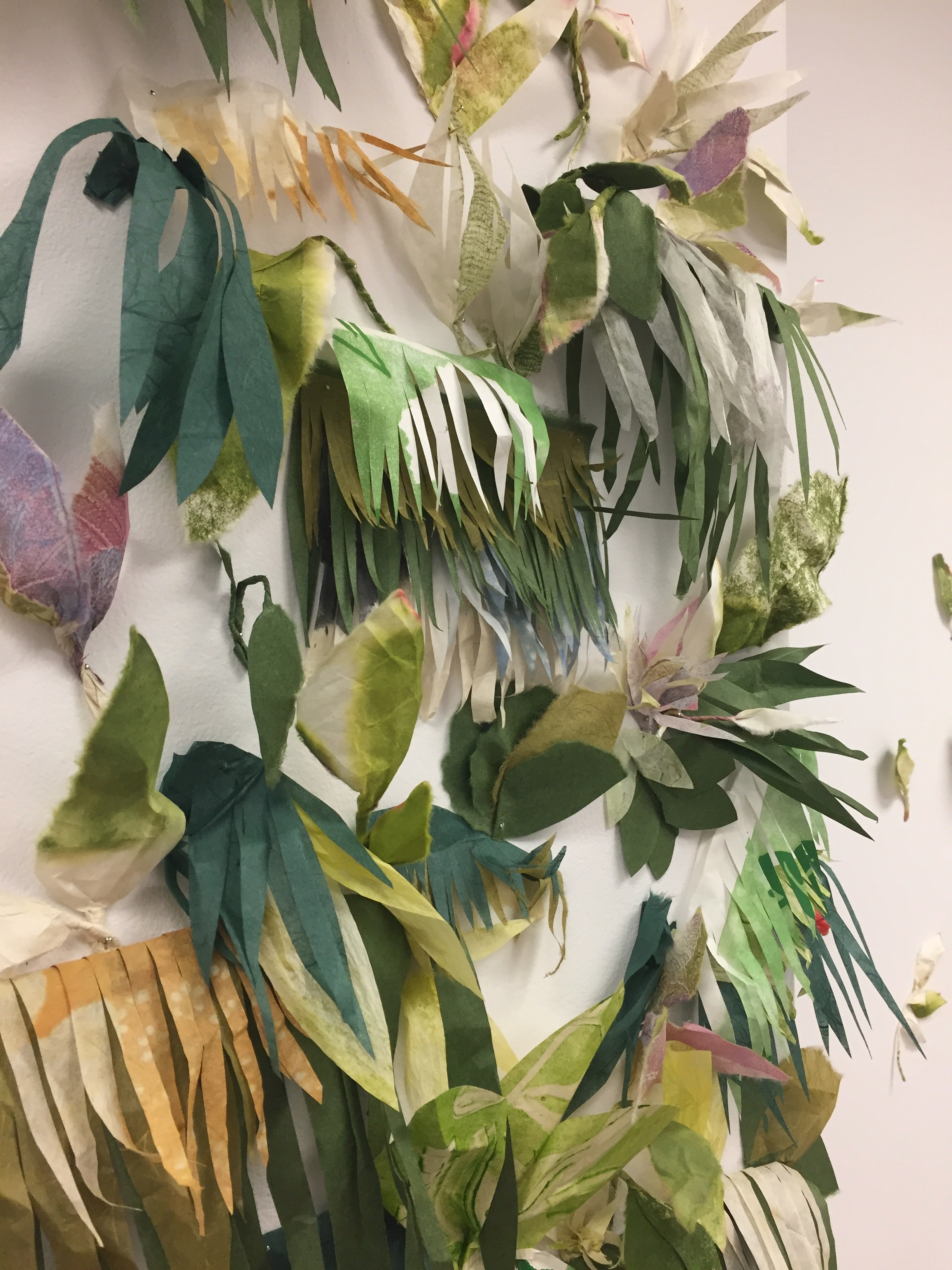 living wall, Print Garden Residency 2018