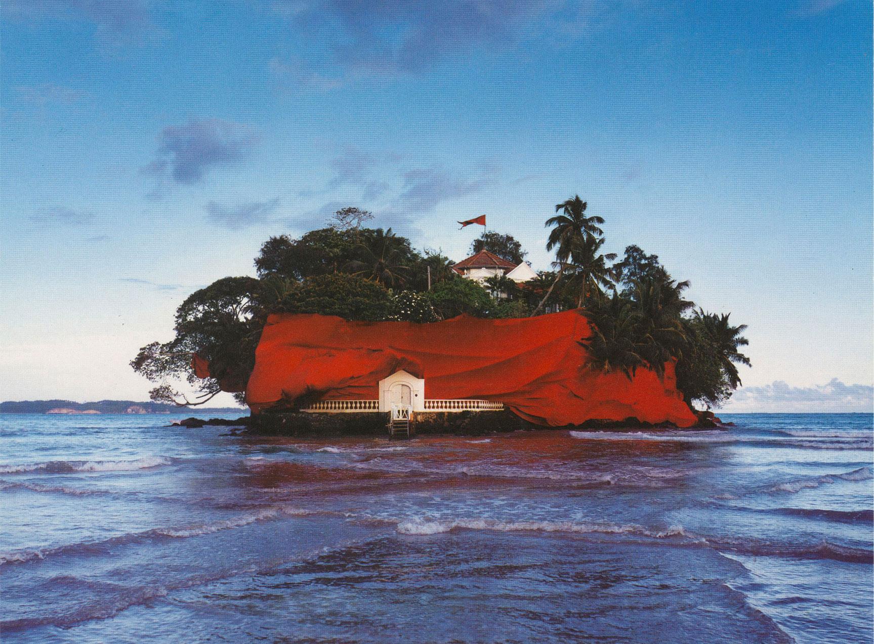 TAPROBANE ISLAND WRAP - MALABAR COTTON COMPANY - WELIGAMA - SRI LANKA