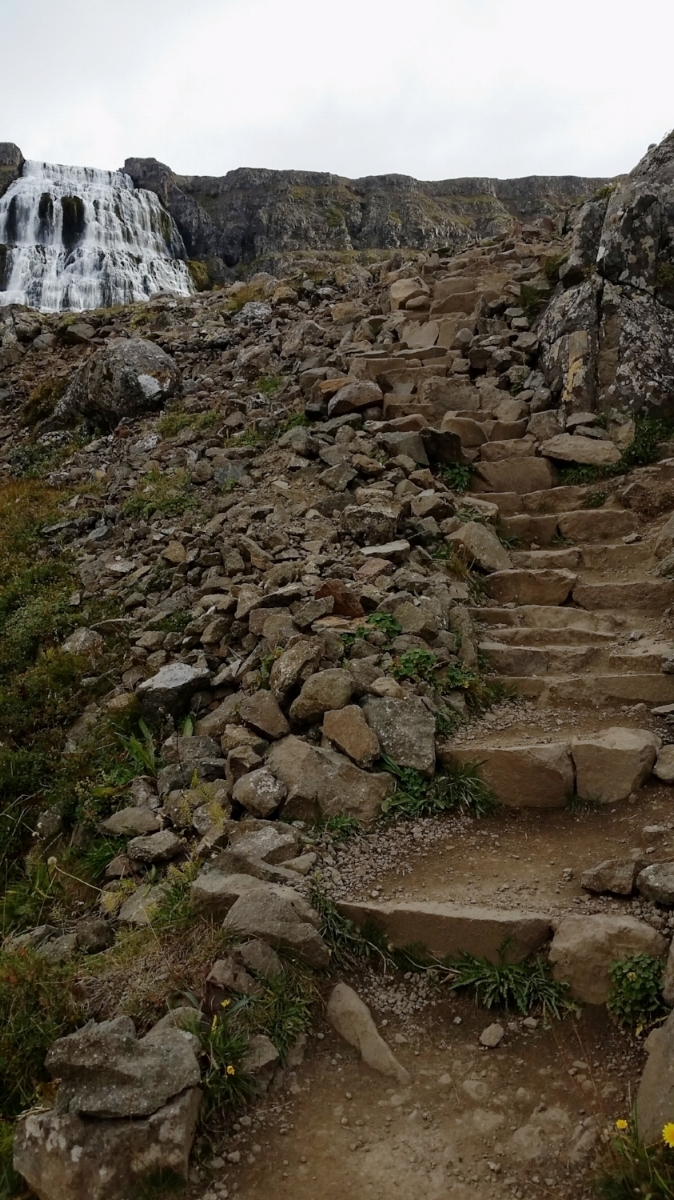 Just keep climbing.What's at the top is amazing. -