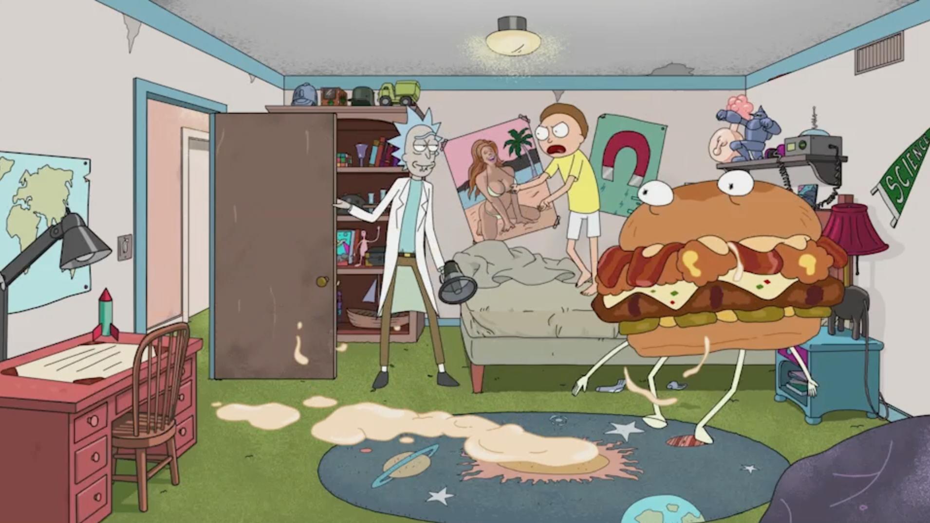 CURATING & MANAGING BRAND PARTNERS Carl's Jr. + Rick & Morty and Aqua Teen Hunger Force