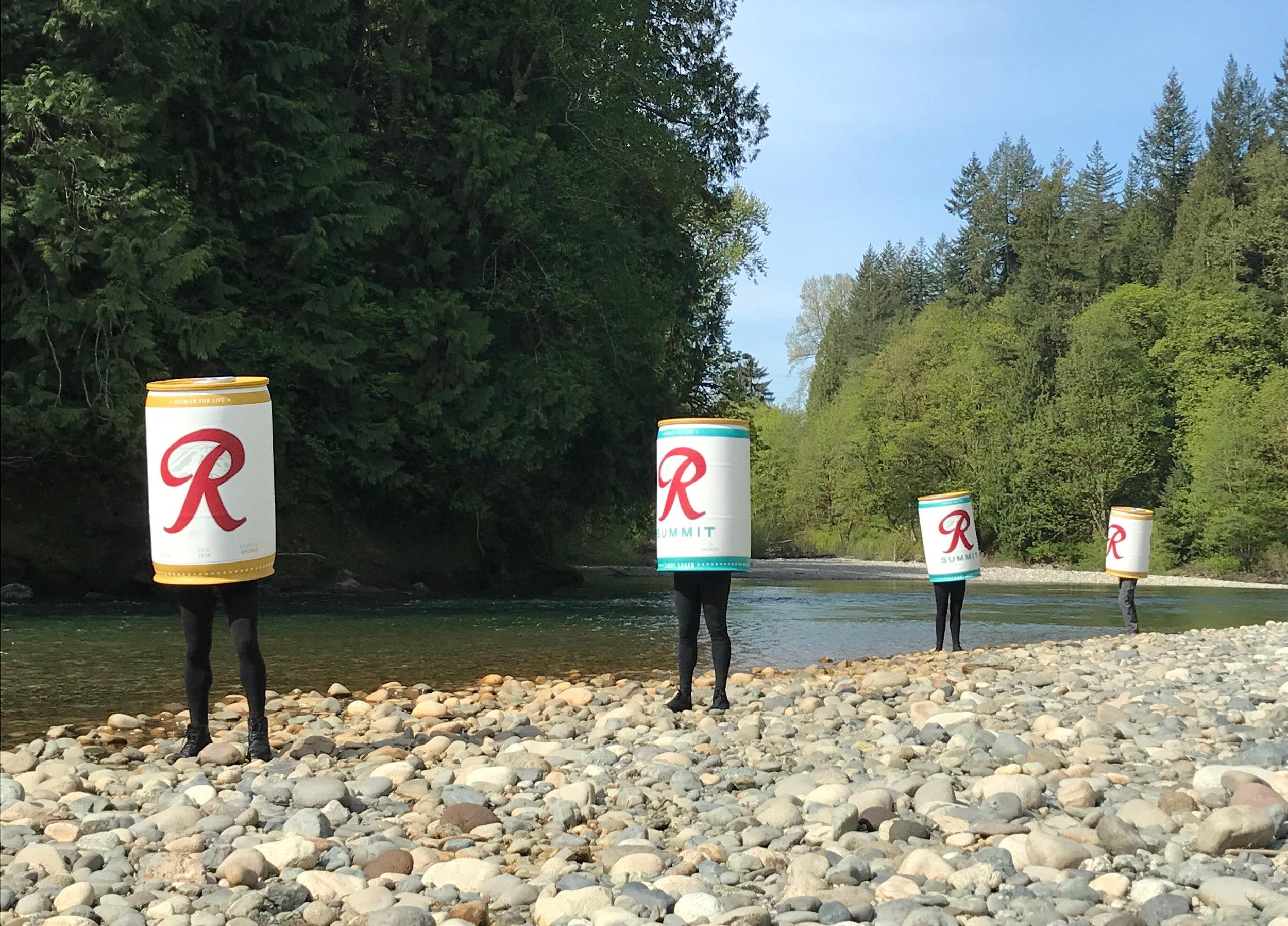 DIRECTING & CREATIVE DIRECTING Rainier Beer // Rewild the Rainiers